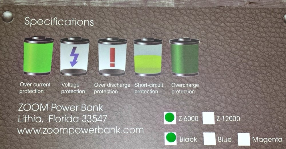 Zoom Z-6000 Power Bank Portable Charger Review ⋆ Tom`s Take On Things