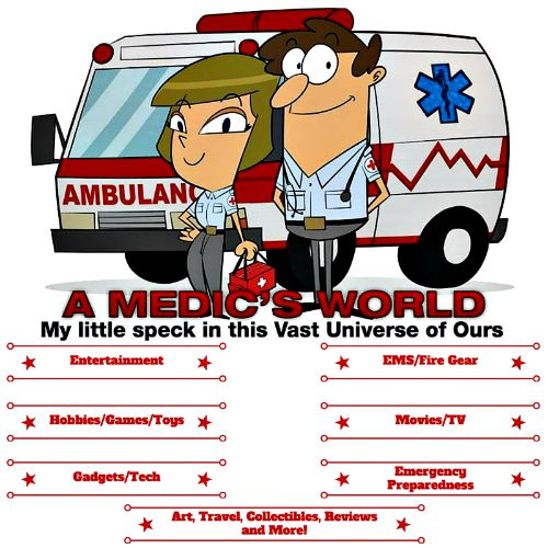 A Medic's World Website Banner - My Little Speck in this Vast Universe of Ours