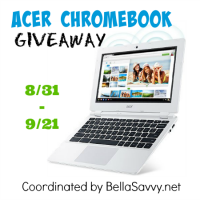 Acer Chromebook Giveaway - Ends 9/21 Enter to win a cool gadget/laptop like this one. Good Luck from A Medic's World, be sure to visit my site.