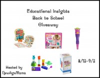 Educational Insights Back to School Giveaway - Ends 9/3 Good Luck from A Medic's World
