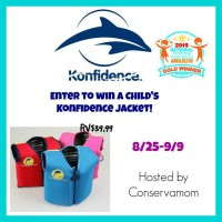 Konfidence Life Jacket for Young Kids Giveaway - Ends 9/9 Good Luck, and thanks for being with A Medic's World