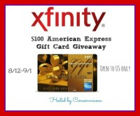 $100 American Express Gift Card Giveaway - Ends 9/1