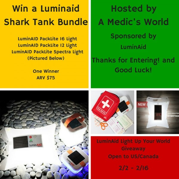 Welcome to the LuminAid Light Up Your World Giveaway